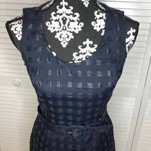 Banana Republic Belted Sheath Dress Size 2